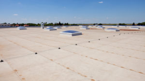 Flat roof on industrial hall | Commercial Roofers Southpaw Roofing – Augusta GA