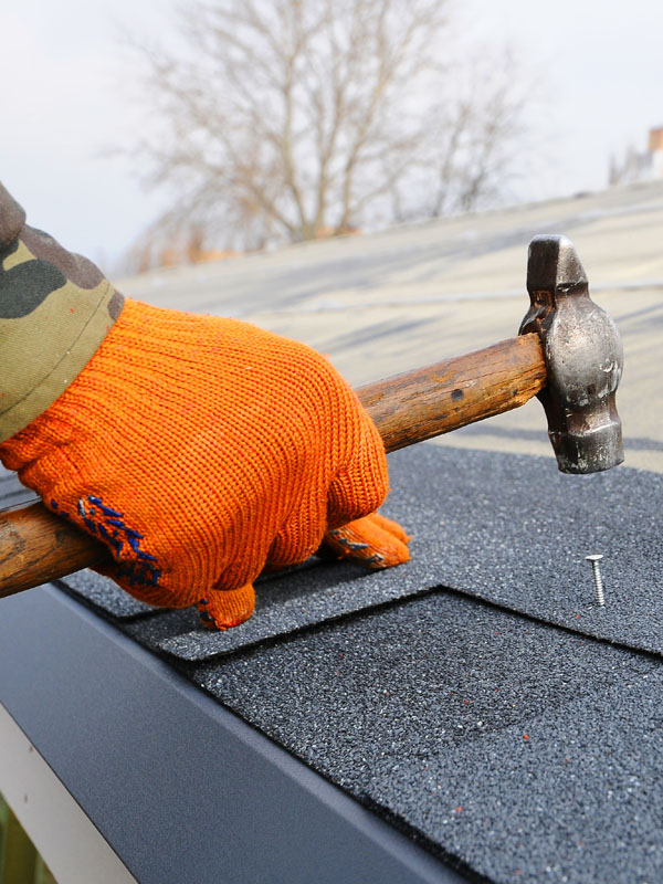 Storm Damage Roof Repair Southpaw Roofing